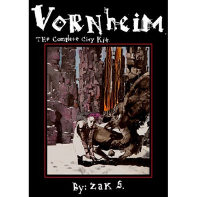 Lamentations of the Flame Princess - Vornheim: The Complete City Kit - 401 Games