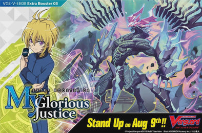 Cardfight Vanguard - V Extra Booster 08: My Glorious Justice  Booster Case - 401 Games