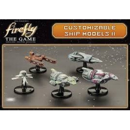 Firefly: The Game - Customizable Ship Models 2 (No Restock)