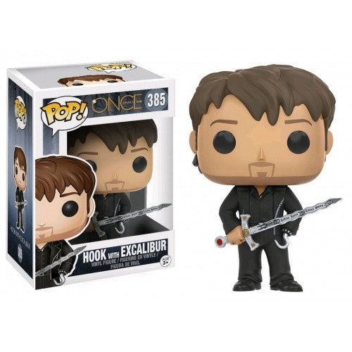 Buy Pop! Once Upon A Time - Hook with Excalibur and more Great Funko & POP! Products at 401 Games
