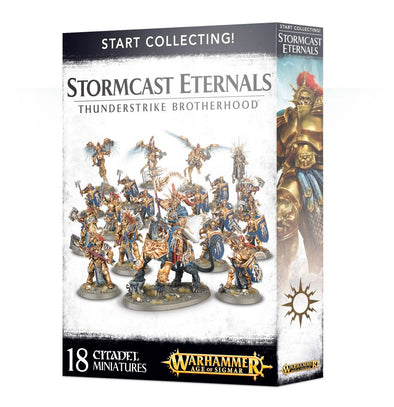Buy Warhammer - Age of Sigmar - Start Collecting! Stormcast Eternals - Thunderstrike Brotherhood and more Great Games Workshop Products at 401 Games