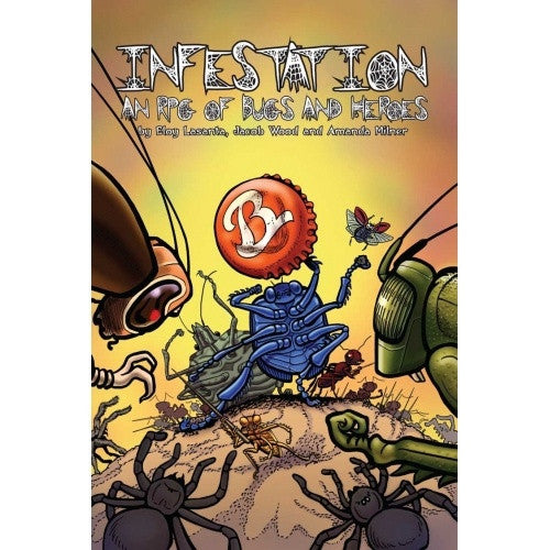 Infestation - Core Rulebook (Colour) - 401 Games