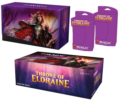 MTG - Throne of Eldraine - Combo #2 - Booster Box, Bundle Set of 2 Planeswalker Decks (Pre-Order Oct. 4th, 2019)