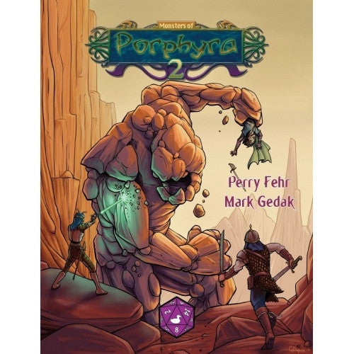 Buy Pathfinder - Campaign Setting - Monsters of Porphyra 2 and more Great RPG Products at 401 Games