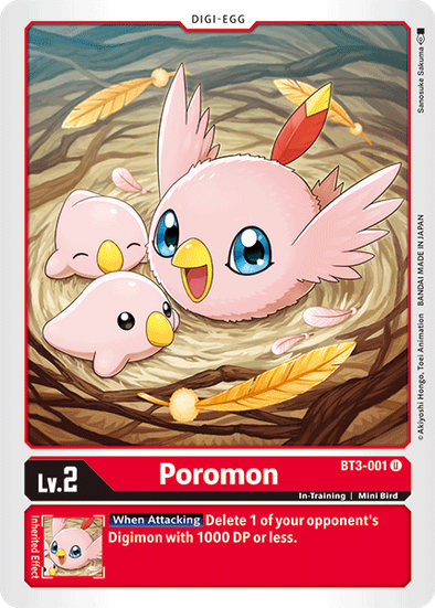 Poromon (BT3-001) available at 401 Games Canada