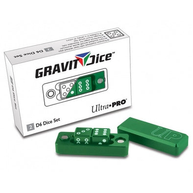 Buy Ultra Pro - Dice Set - 2D6 - Gravity Dice - Emerald and more Great Dice Products at 401 Games