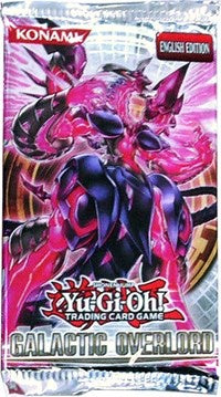 Yugioh - Galatic Overlord Booster Pack - Unlimited