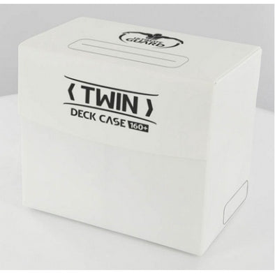 Buy Ultimate Guard - Twin Deck Case 160+ - White and more Great Sleeves & Supplies Products at 401 Games