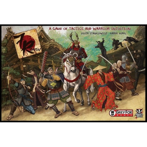 Buy 7 Ronin and more Great Board Games Products at 401 Games
