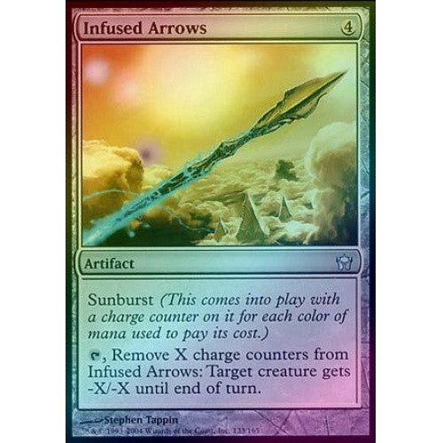 Infused Arrows (Foil) (5DN) - 401 Games