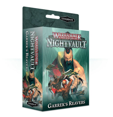 Warhammer Underworlds - Nightvault - Garrek's Reavers ** available at 401 Games Canada