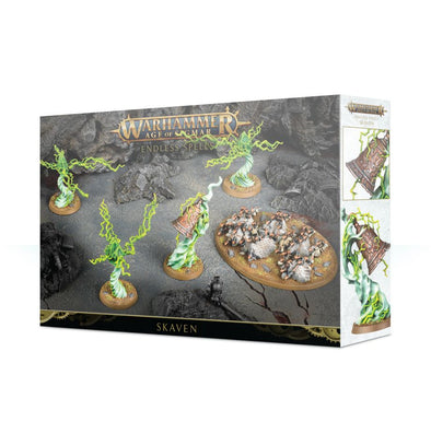 Buy Warhammer - Age of Sigmar - Endless Spells: Skaven and more Great Games Workshop Products at 401 Games