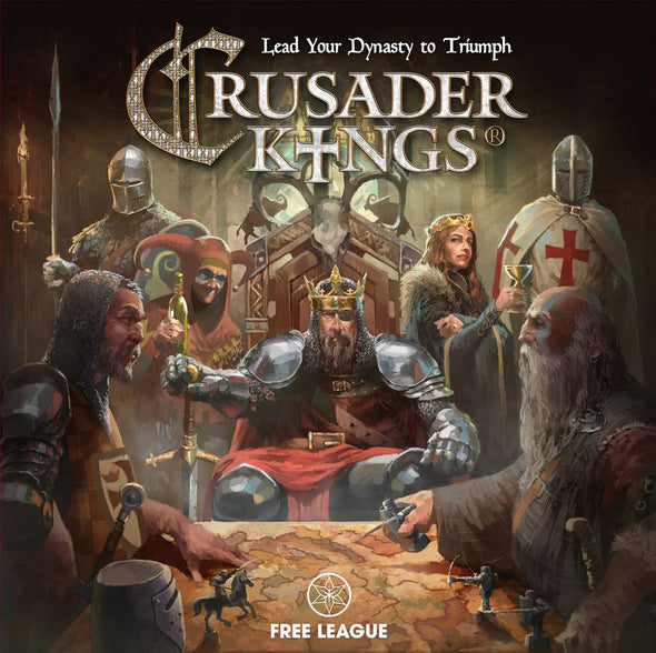 Crusader Kings - The Board Game (Pre-Order)