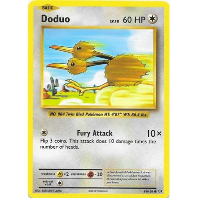Buy Doduo - 69/108 and more Great Pokemon Products at 401 Games