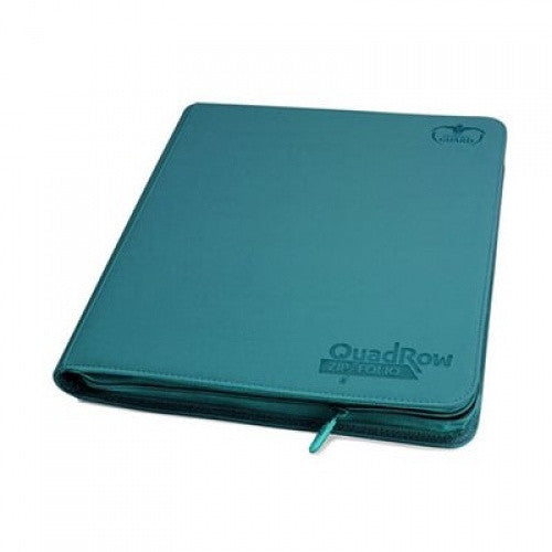 Buy Ultimate Guard - 12 Pocket Quadrow Zip Folio Xenoskin Sideloading Binder - Petrol and more Great Sleeves & Supplies Products at 401 Games