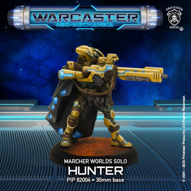 Warcaster - Neo-Mechanika - Marcher Worlds - Hunter - 401 Games