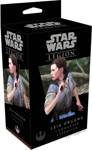 Star Wars - Legion - Rebel - Leia Organa Commander Expansion - 401 Games