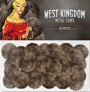 Architects of the West Kingdom - Metal Coins (50pc)