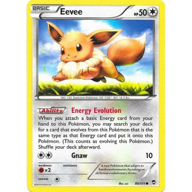 Buy Eevee - 80/111 and more Great Pokemon Products at 401 Games