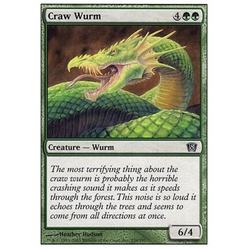 Craw Wurm available at 401 Games Canada