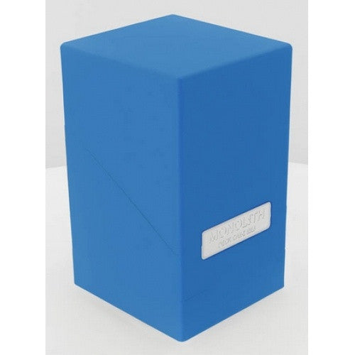 Buy Ultimate Guard - Monolith Deck Case - Blue and more Great Sleeves & Supplies Products at 401 Games