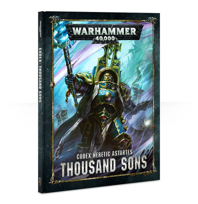 Warhammer 40,000 - Codex: Thousand Sons - 8th Edition available at 401 Games Canada