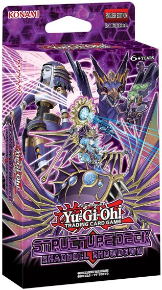 Yugioh - Shaddoll Showdown Structure Deck (Pre-Order Feb 14, 2020)