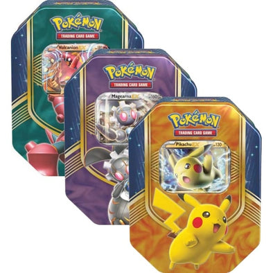Pokemon - Battle Heart Tin - Set of 3 available at 401 Games Canada
