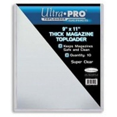 Buy Ultra Pro - Toploader 10ct - 9x11 and more Great Sleeves & Supplies Products at 401 Games