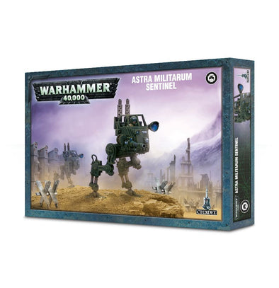 Buy Warhammer 40,000 - Astra Militarum - Sentinel and more Great Games Workshop Products at 401 Games