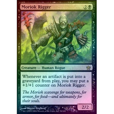Moriok Rigger (Foil) (5DN) available at 401 Games Canada