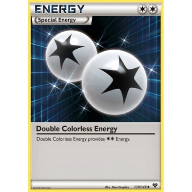Double Colorless Energy - 130/146 - Reverse Foil - 401 Games