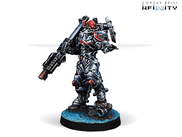 Infinity - Combined Army - Rodok, Armed Imposition Detachment (Missile Launcher) - 401 Games