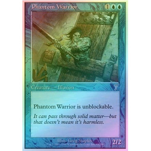 Phantom Warrior (Foil) - 401 Games