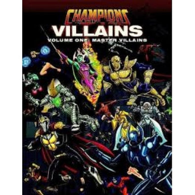 Champions Complete - Villains Volume 1: Master Villains - 401 Games