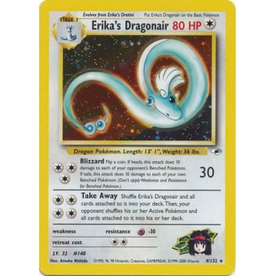 Buy Erika's Dragonair - 4/132 - Unlimited (GYMH) and more Great Pokemon Products at 401 Games