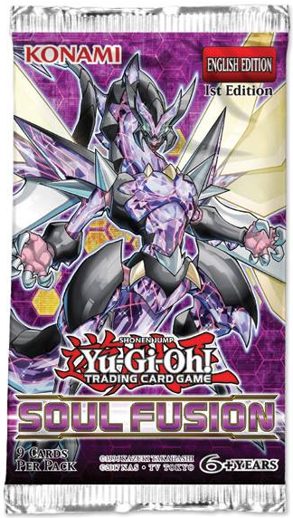 Yugioh - Soul Fusion Booster Pack - 401 Games