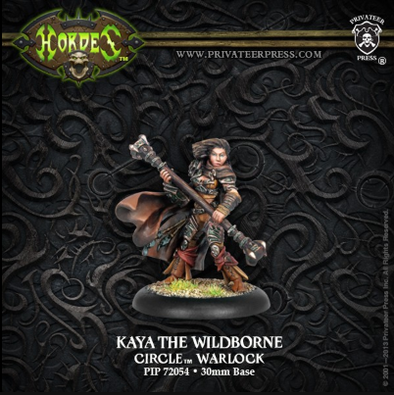 Hordes - Circle Orboros - Kaya the Wildborne - 401 Games