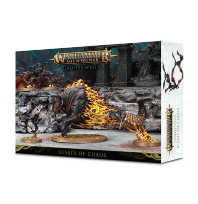 Buy Warhammer - Age of Sigmar - Endless Spells: Beast of Chaos and more Great Games Workshop Products at 401 Games