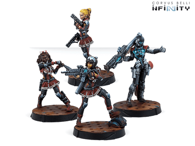 Infinity - Nomads - Tunguska Cheerkillers available at 401 Games Canada