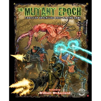The Mutant Epoch - Core Rulebook - 401 Games