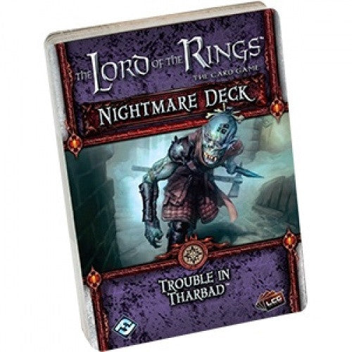 Lord of the Rings - The Card Game - Trouble in Tharbad Nightmare Deck available at 401 Games Canada