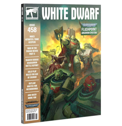 White Dwarf - Issue 458 - November 2020 available at 401 Games Canada