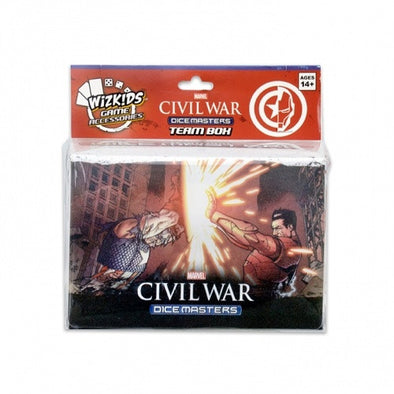 Buy Dice Masters - Marvel Civil War - Team Box and more Great Dice Masters Products at 401 Games