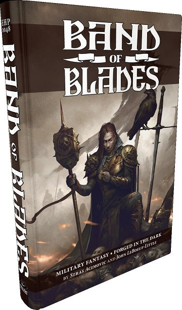 Buy Band of Blades - Core Rulebook (Pre-Order) and more Great RPG Products at 401 Games