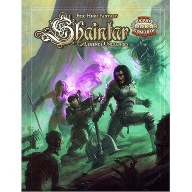 Savage Worlds - Shaintar: Legends Unleashed - 401 Games