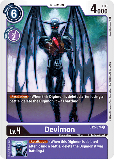 Devimon (BT2-074) available at 401 Games Canada