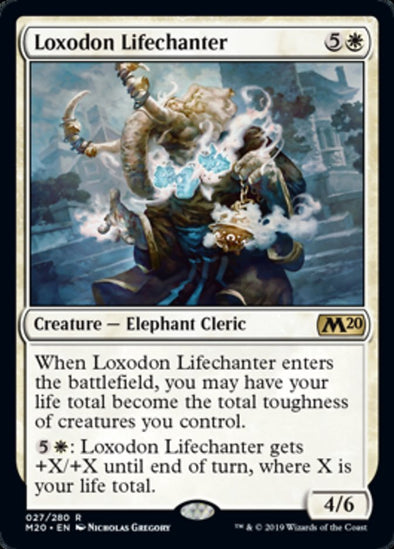 Loxodon Lifechanter (M20) - 401 Games