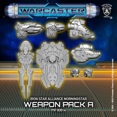 Warcaster - Neo-Mechanika - Iron Star Alliance - Morningstar Weapon Pack (Variant A) - 401 Games