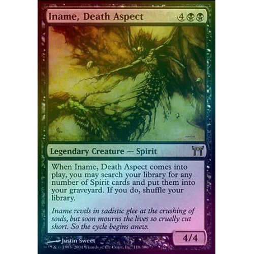 Iname, Death Aspect (Foil) (CHK) - 401 Games